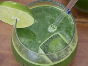 Raw Collard Green Juice