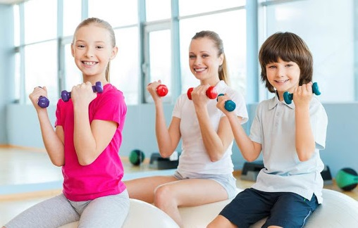 health benefits of exercise for kids